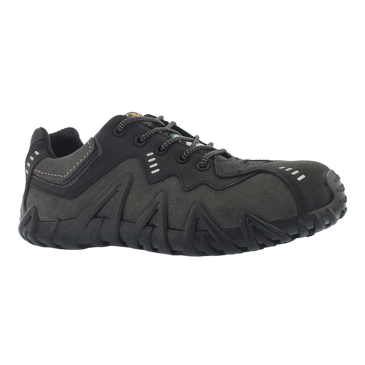 Men's SPIDER black/charcoal lace up CSA sneakers