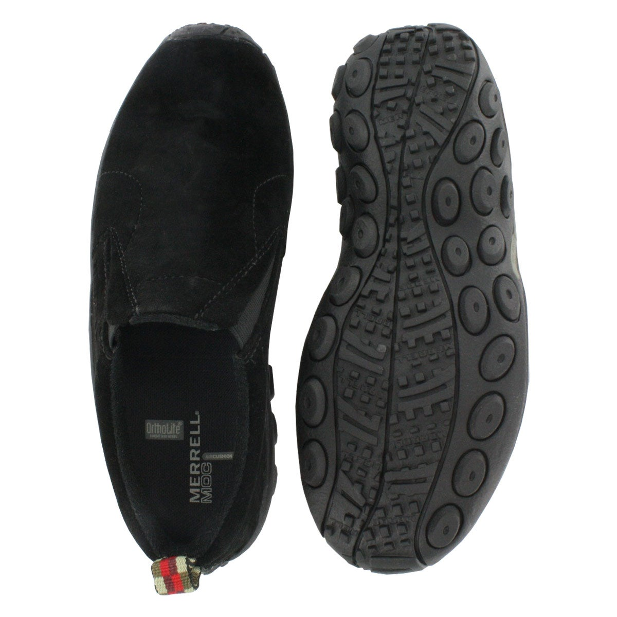 Lds Jungle Moc blk 2 gore slip on
