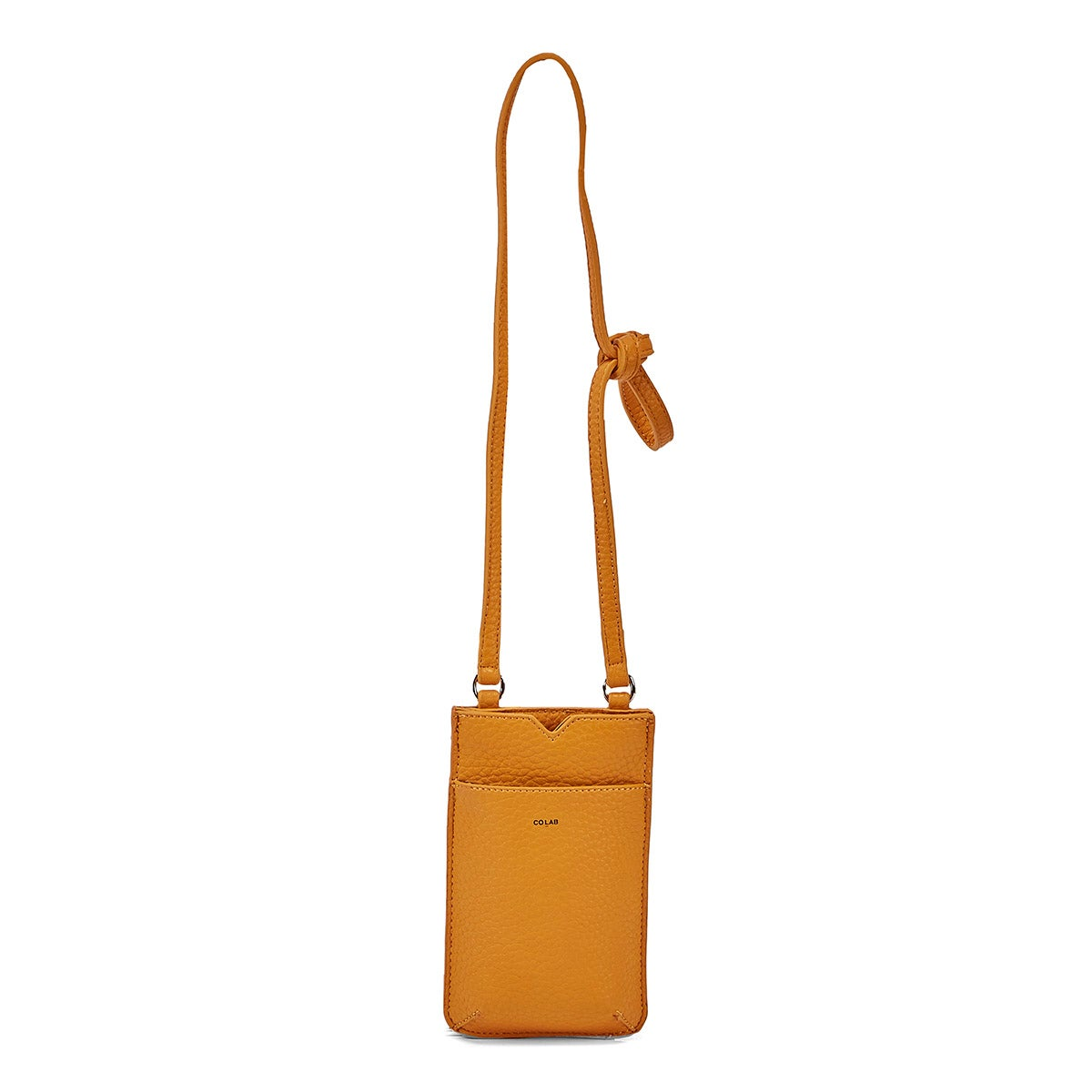 Lds marigold cell-phone holder crossbody