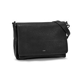 Co-Lab Women's 6110 black messenger crossbody bag