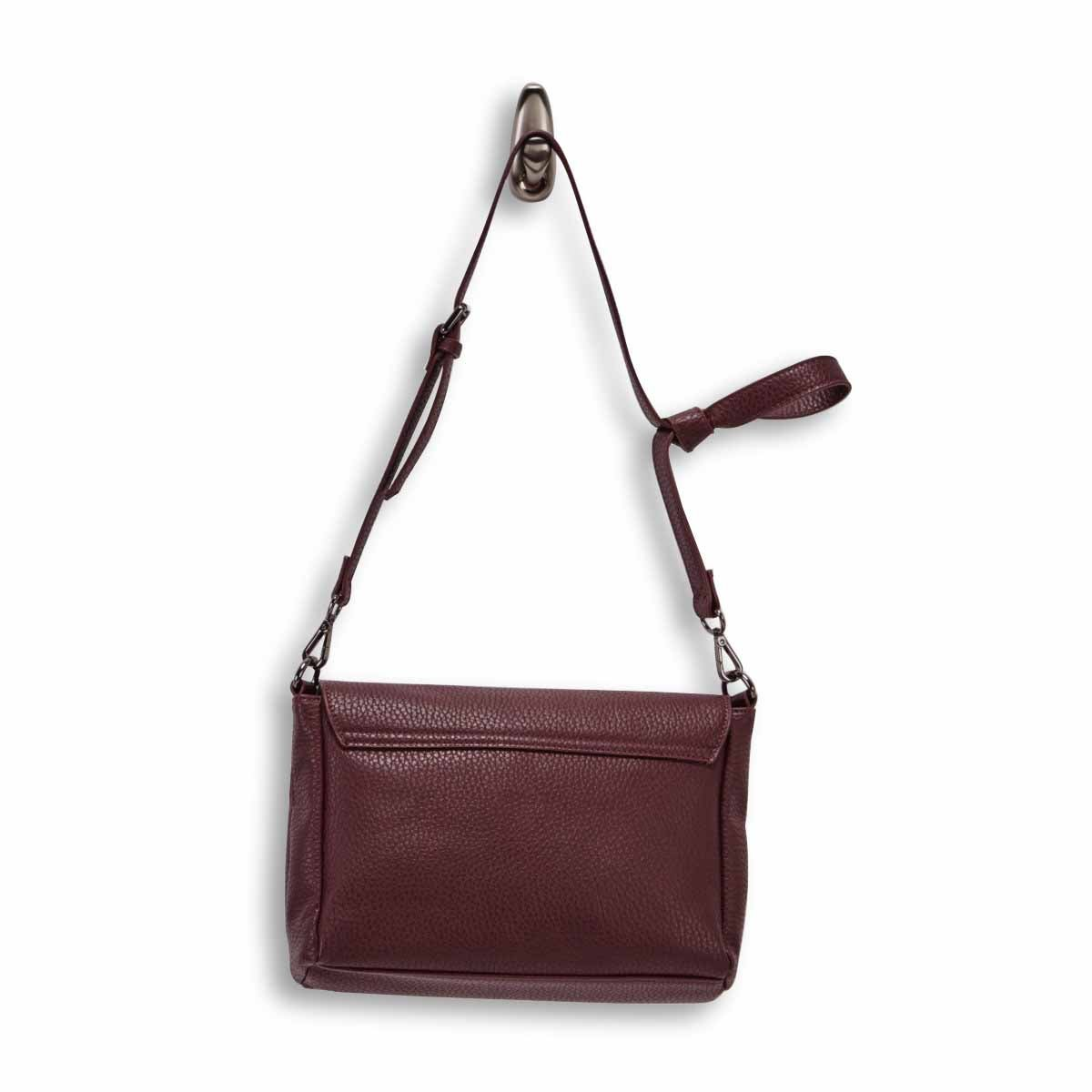 Lds wine messenger crossbody bag