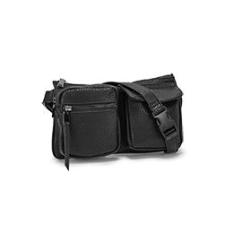 Co-Lab Women's 6114 black adjustable fanny pack