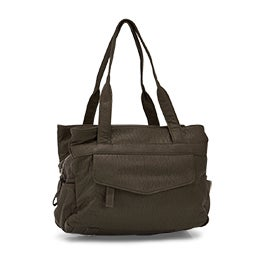Co-Lab Women's 6132 khaki triple crossbody shoulder bag