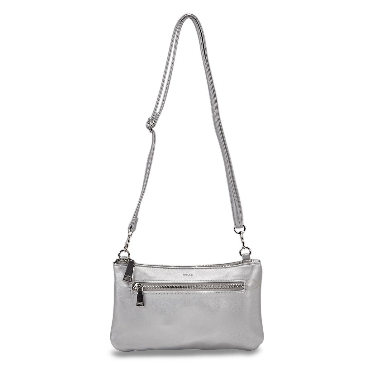Lds Rock and Chain slvr cross body bag