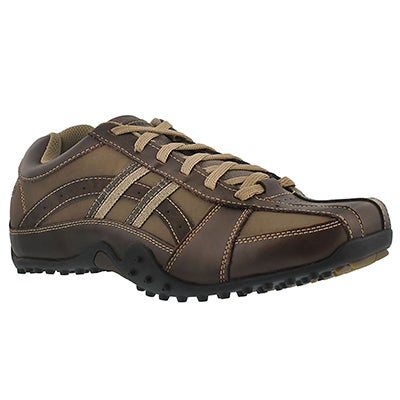 Skechers Men's URBANTRACK BROWSER brown sneakers -Wide