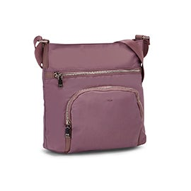 Co-Lab Women's 6234 mauve medium crossbody bag
