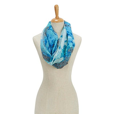Fraas Women's PARADISE LOST TROPICAL STORM LOOP scarves