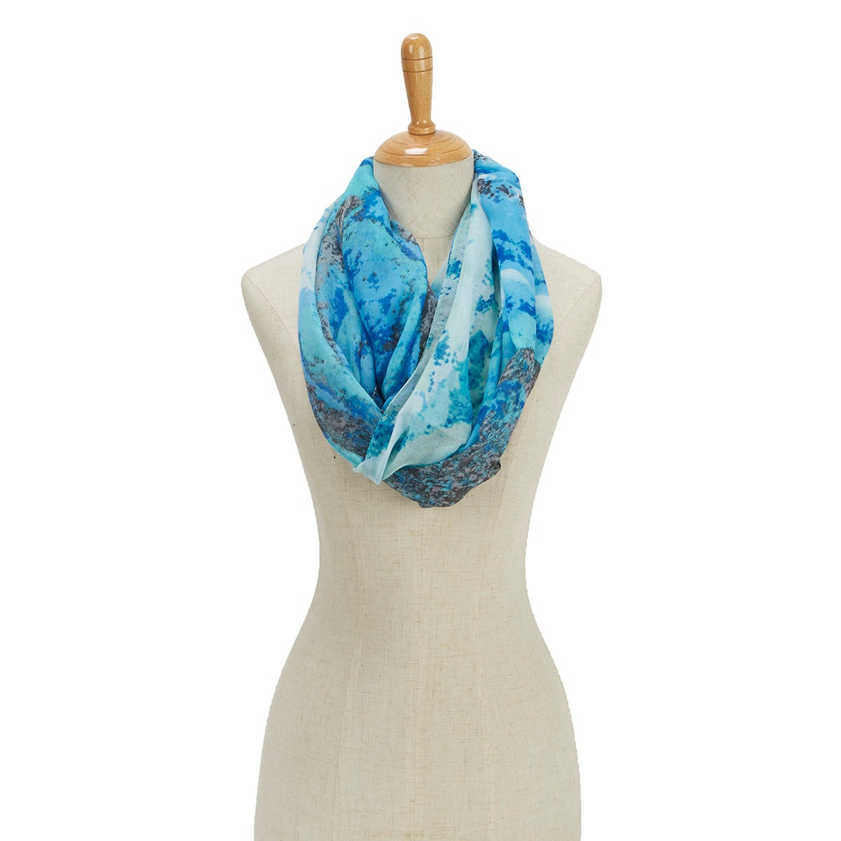Women's PARADISE LOST TROPICAL STORM LOOP scarves