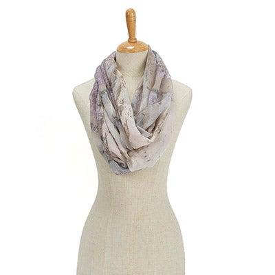 Fraas Women's PARADISE LOST TROPICAL STORM LOOP scarves
