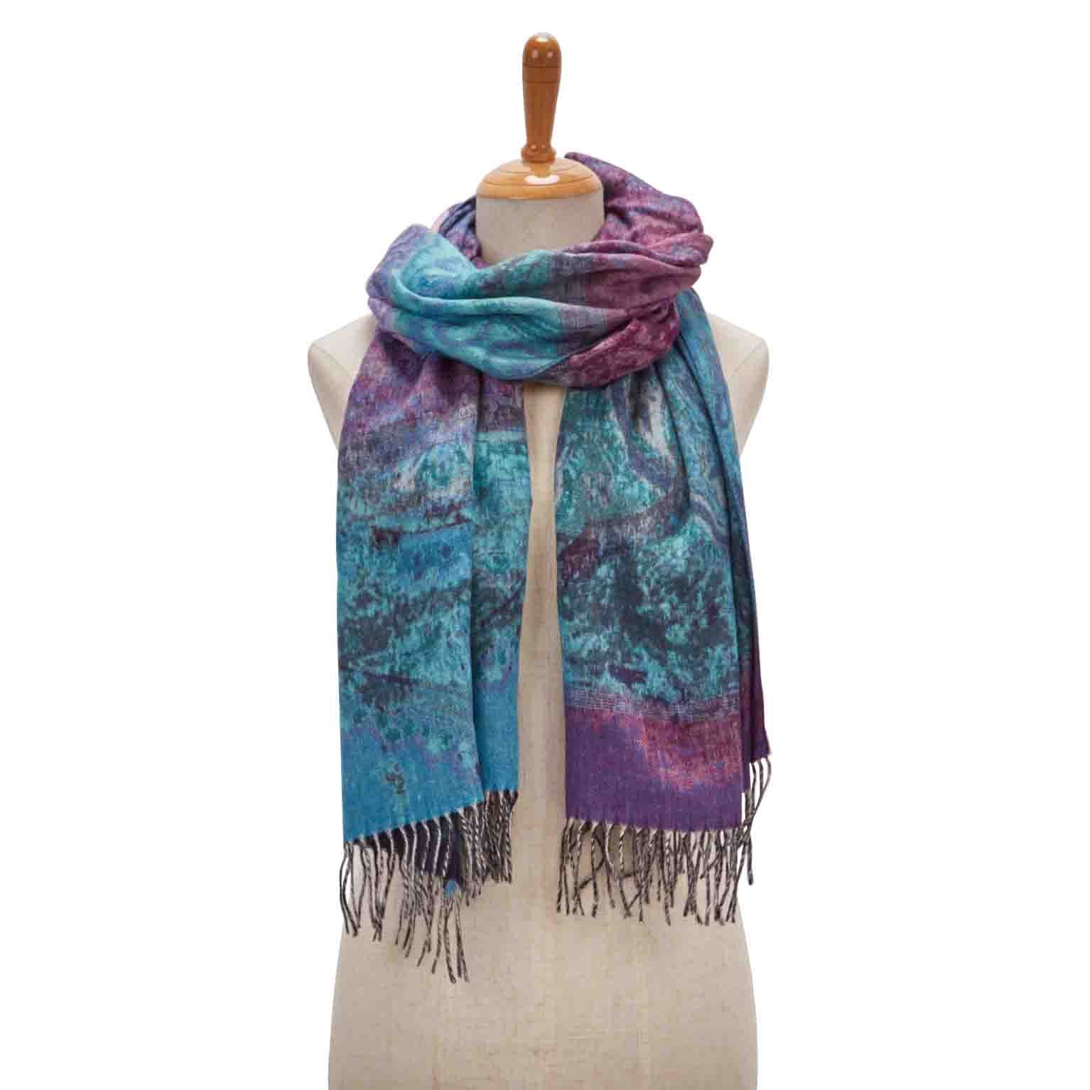Women's PAISLEY ROAD denim scarf
