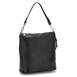 Co-Lab Women's 6257 black convertible hobo bag