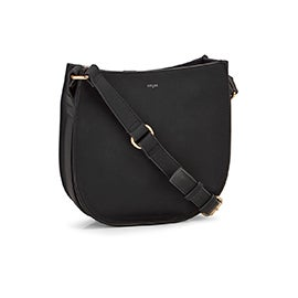 Co-Lab Women's 6263 black medium crossbody bag
