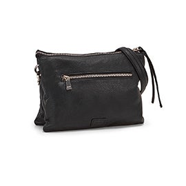 Co-Lab Women's 6286 black crossbody clutch bag