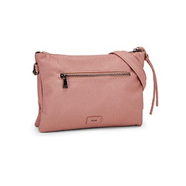 Co-Lab Women's 6286 cotton candy crossbody clutch bag
