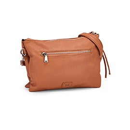 Co-Lab Women's 6286 peanut crossbody clutch bag