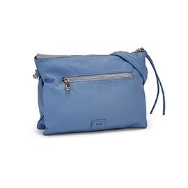 Co-Lab Women's 6286 sky crossbody clutch bag
