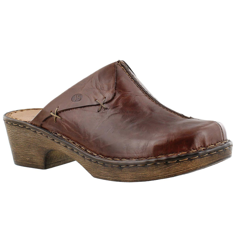 Lds Rebecca 13 brown casual clog