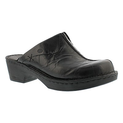Josef Seibel Women's REBECCA 13 black slip on clogs