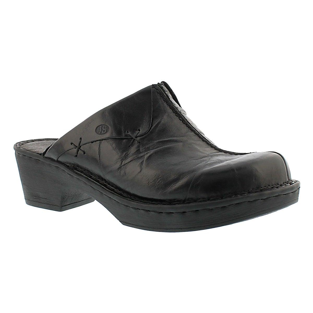 Lds Rebecca 13 black casual clog