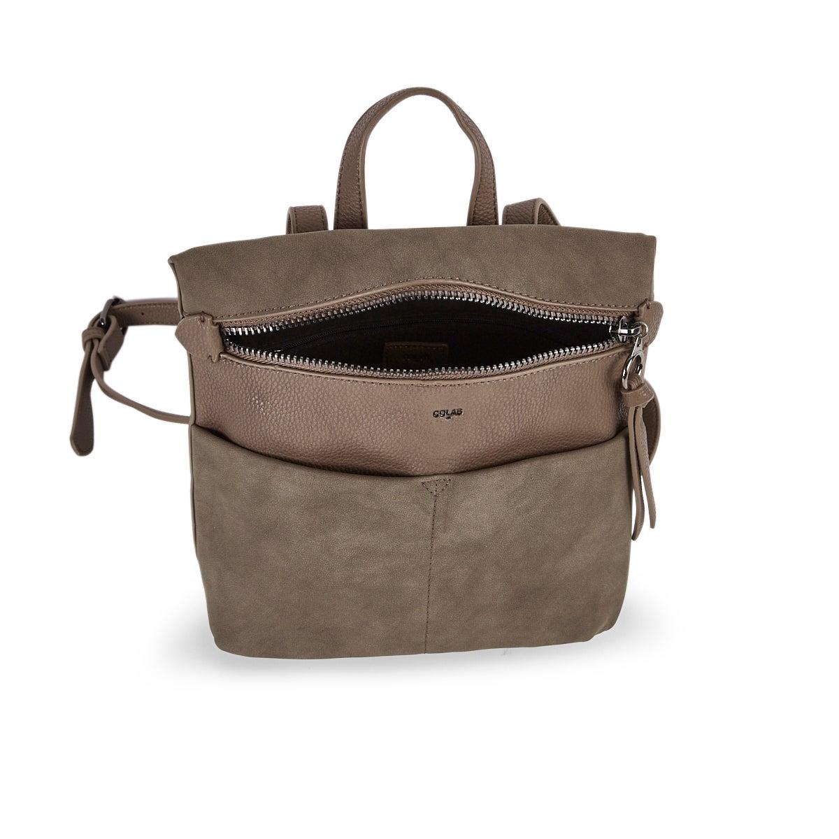 Lds bark zip entry backpack