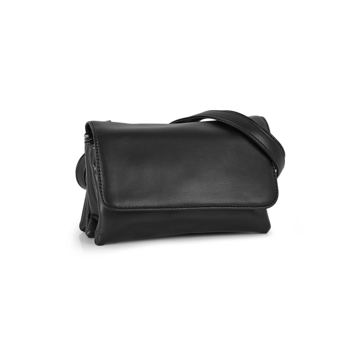 Lds Nappa Smalls black crossbody bag