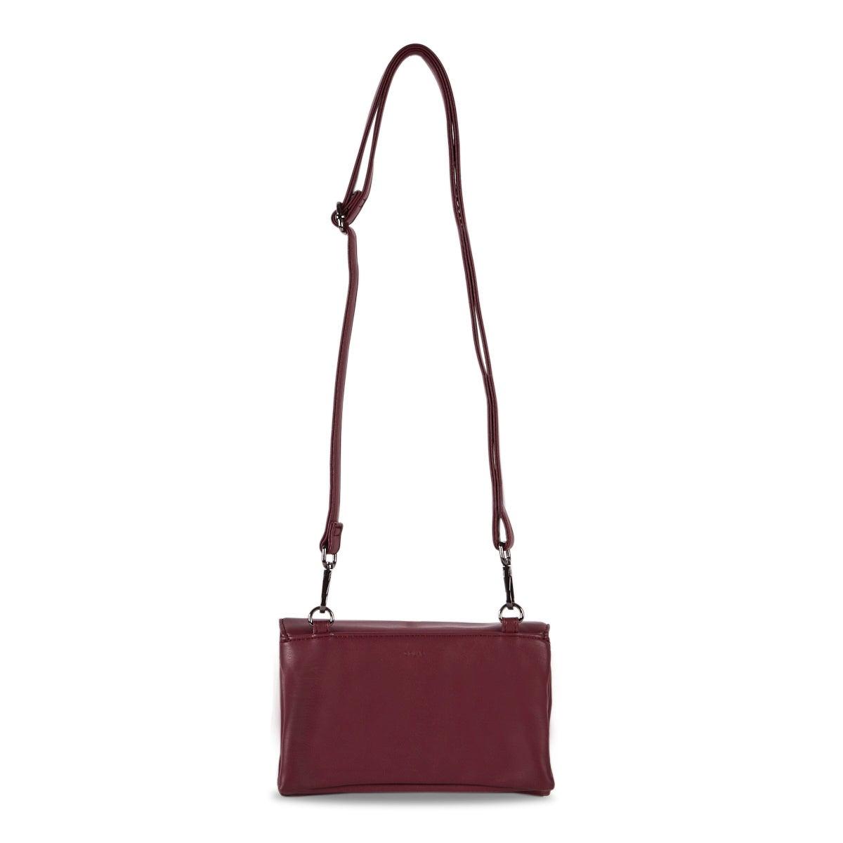 Lds Nappa Smalls berry crossbody bag