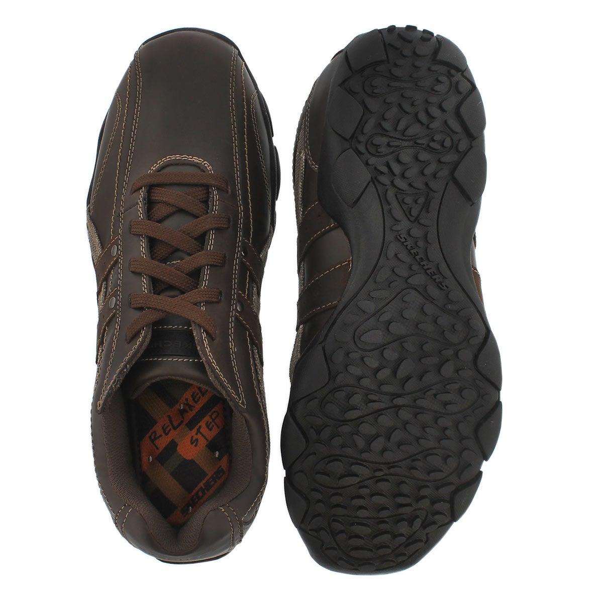 Chaussures lacées Blake, cuir brun, hom