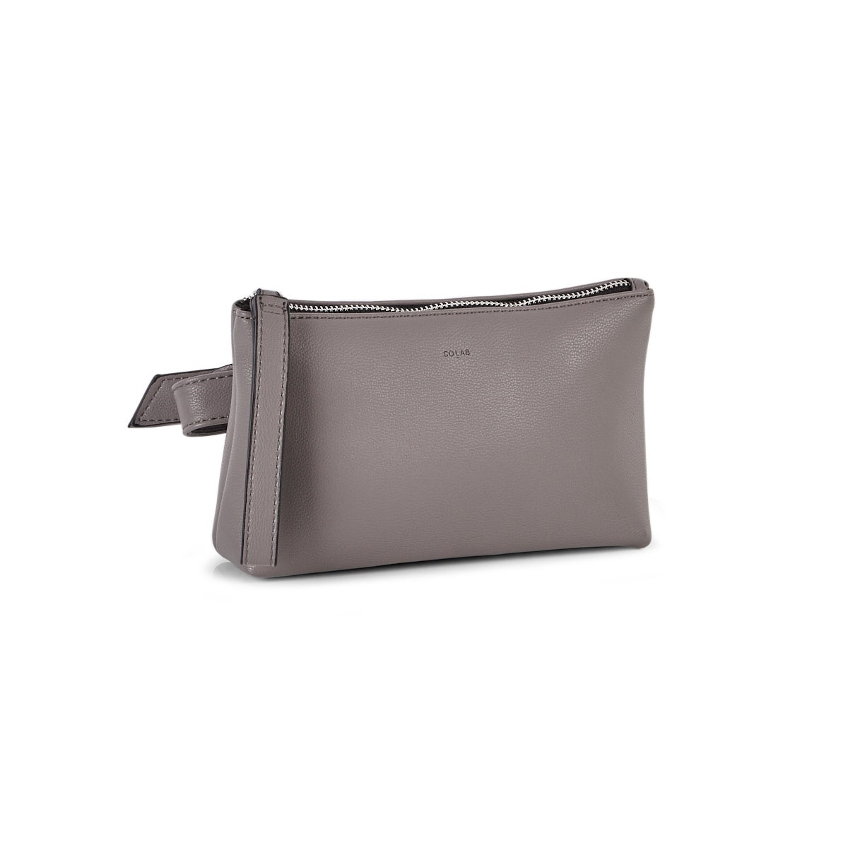 Lds Pebble 2.0 smoke crossbody belt bag