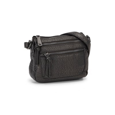 Co-Lab Women's LOFT washed vintage anthracite crossbody