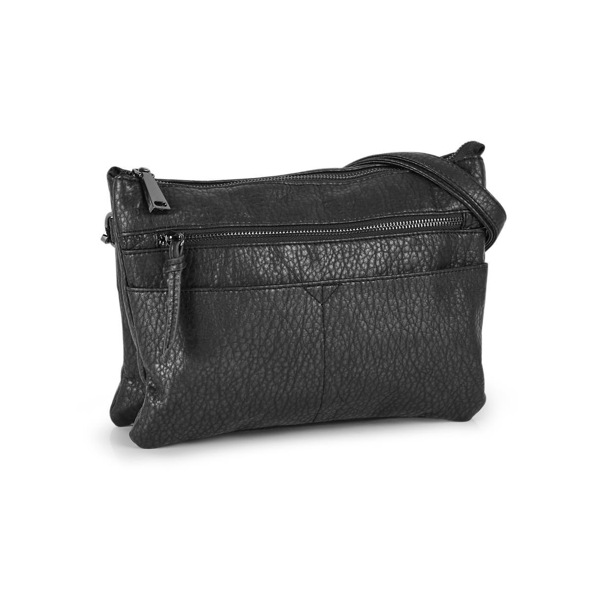 Lds Washed Vintage anth crossbody clutch