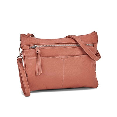 Co-Lab Women's 6347 mulberry wristlet cross body clutch