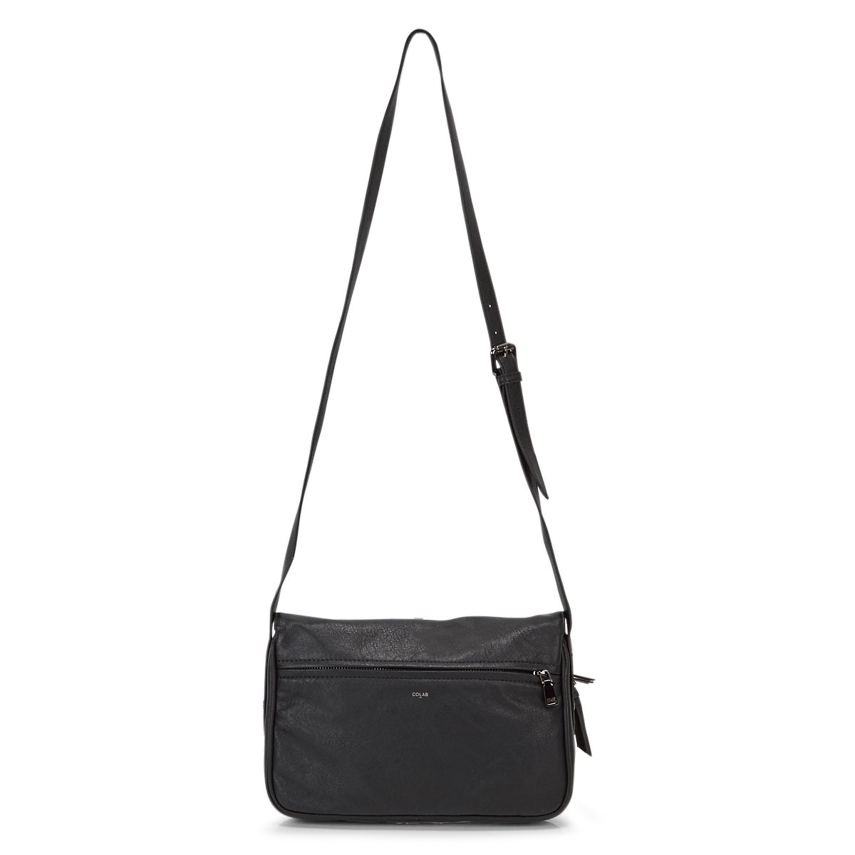 Lds Messenger black crossbody bag