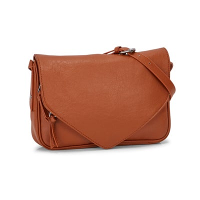 Co-Lab Women's 2.0 cognac crossbody bag
