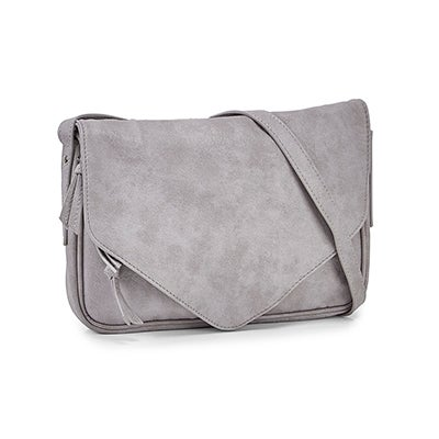 Co-Lab Women's 6353 messenger grey crossbody bags