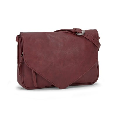 Co-Lab Women's 2.0 wine crossbody bag