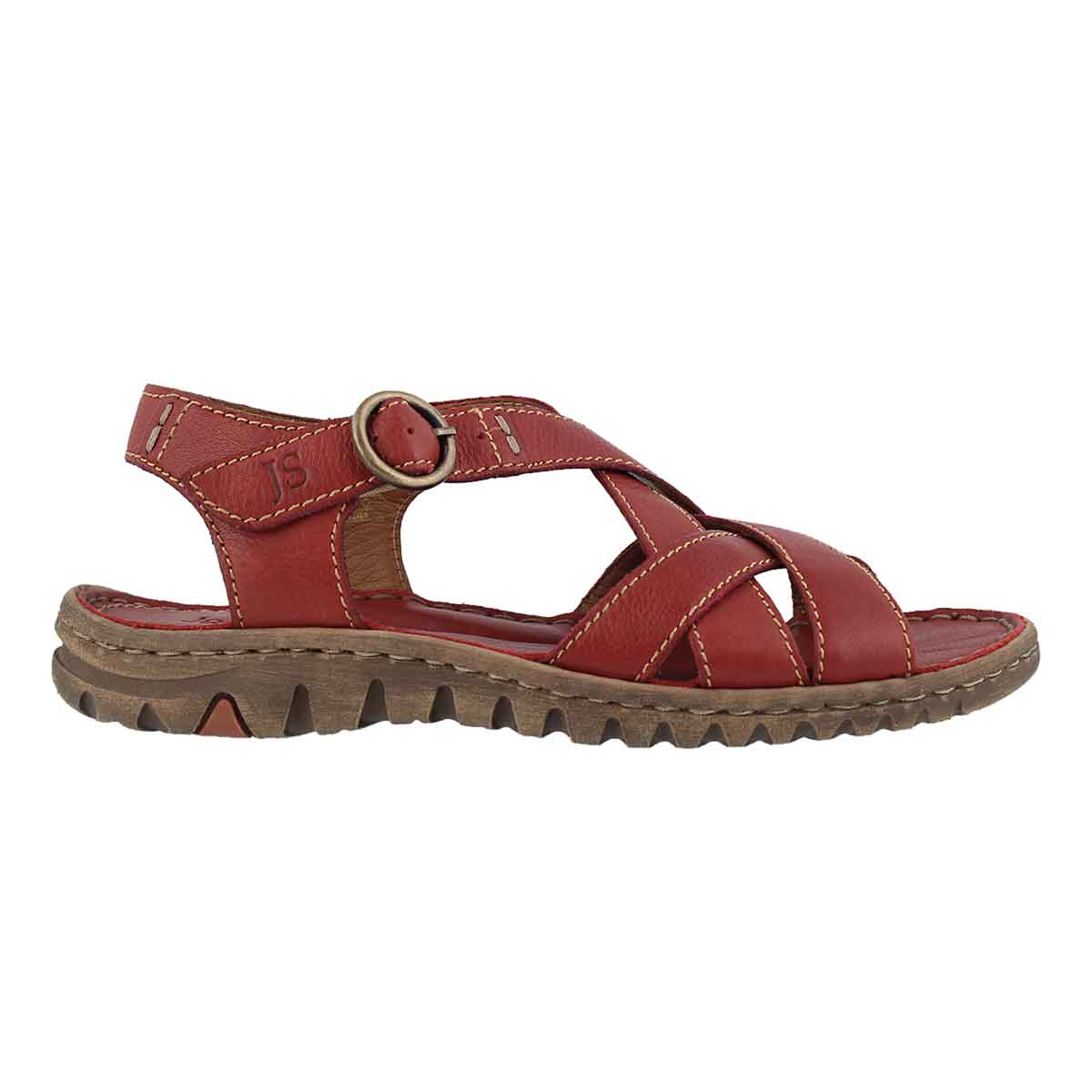 Lds Lucia 01 red casual sandal
