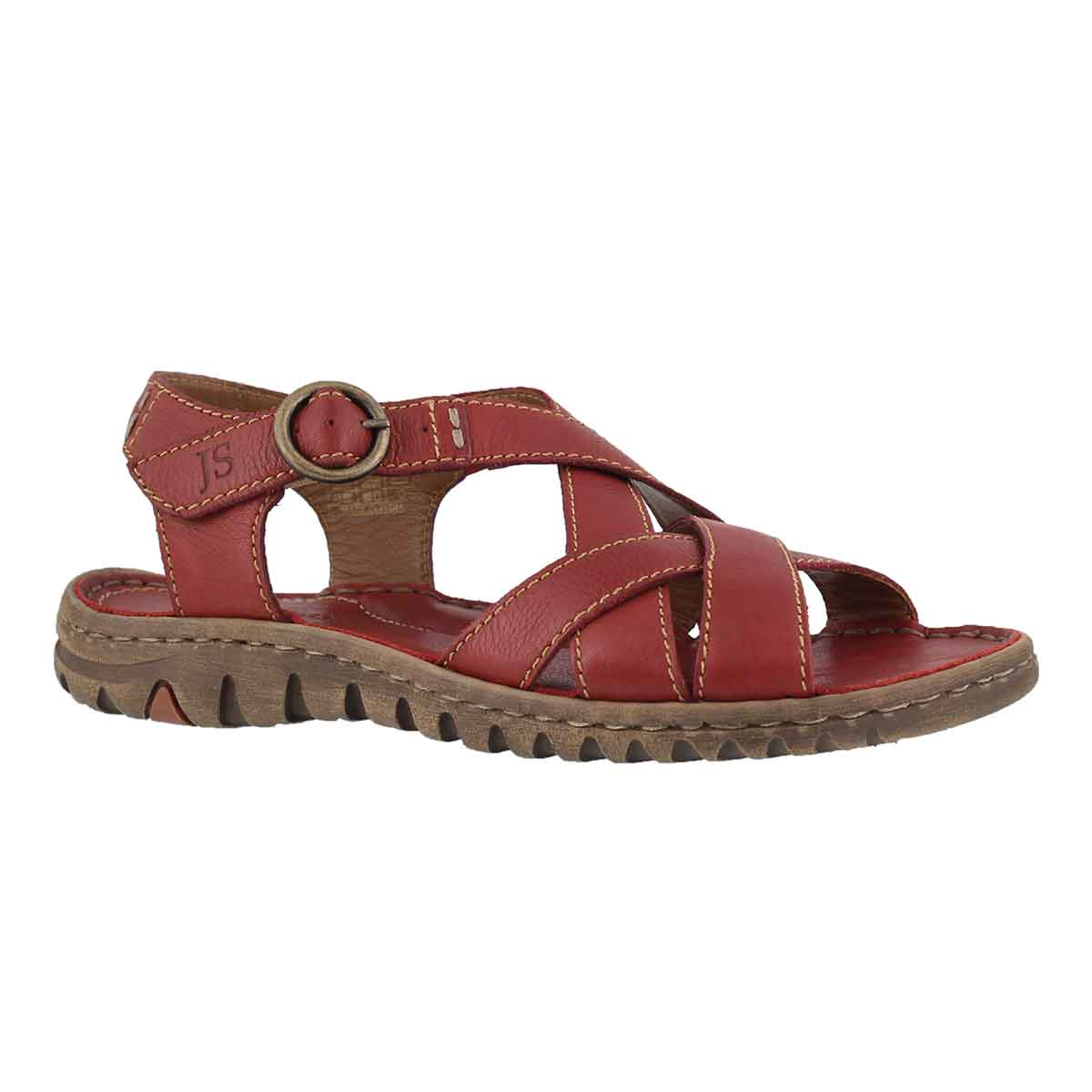 Women's LUCIA 01 red casual sandals