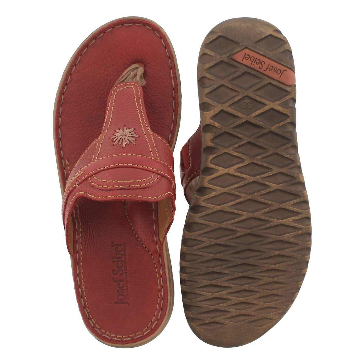 Lds Lucia 09 red casual thng sandal