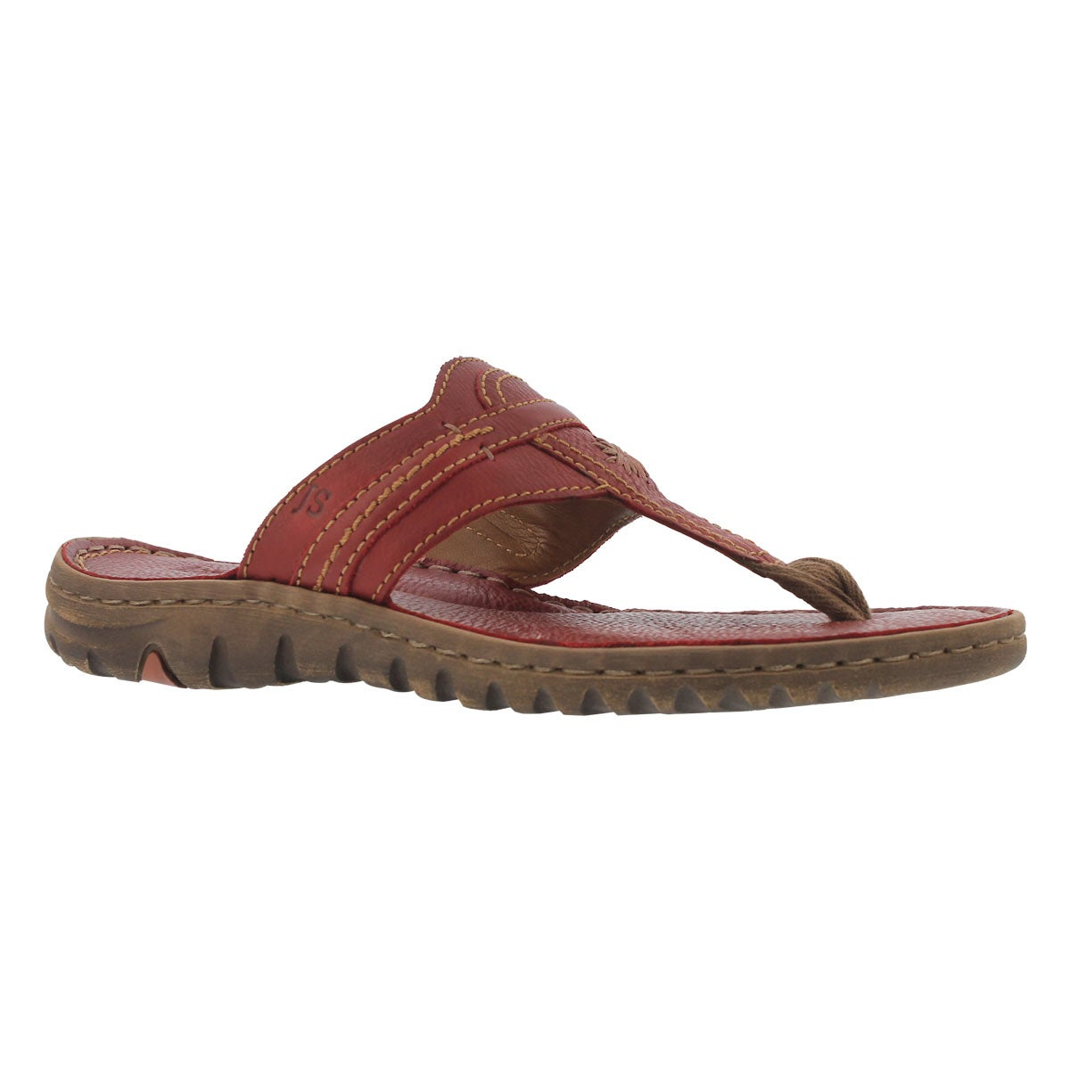 Women's LUCIA 09 red casual thng sandals