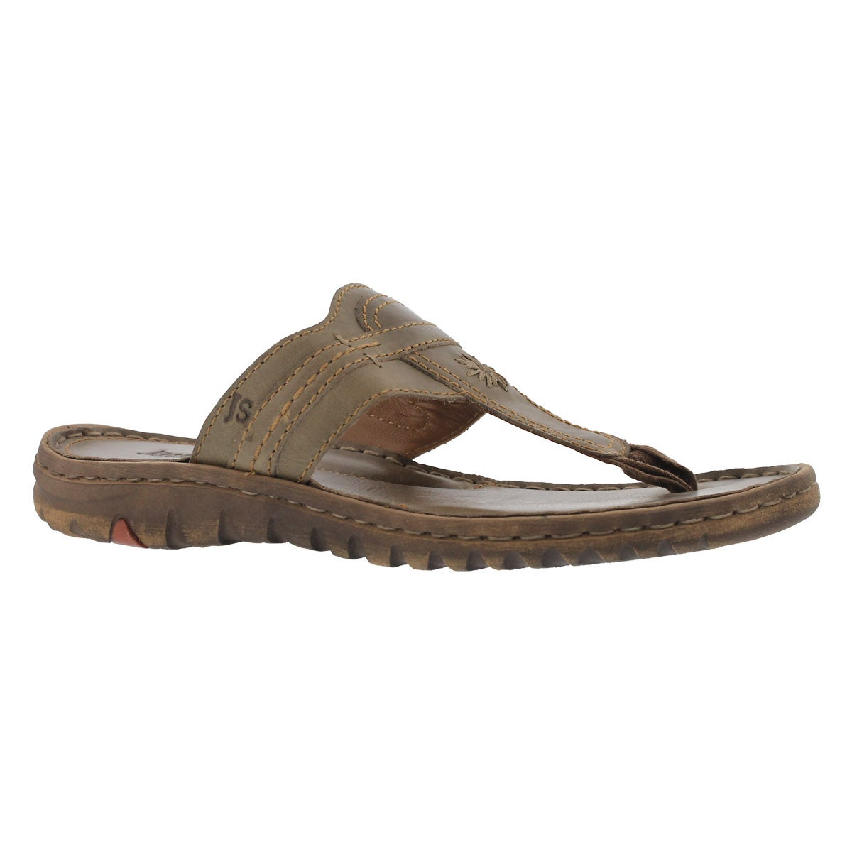 Women's LUCIA 09 olive casual thng sandals