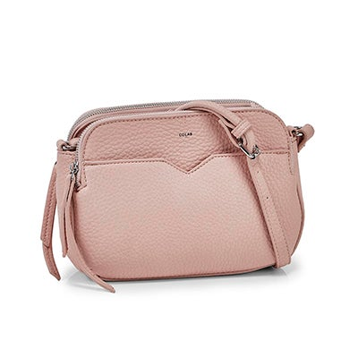 Co-Lab Women's 6390 triple crossbody cotton candy bags