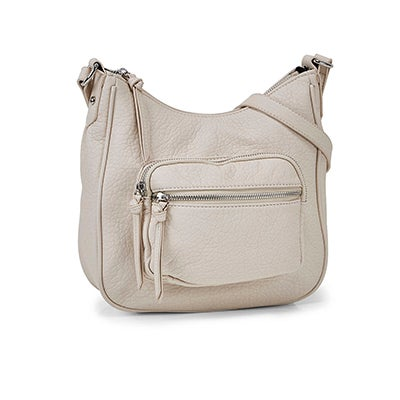 Co-Lab Women's 6402 washed vintage hobo crossbody bags