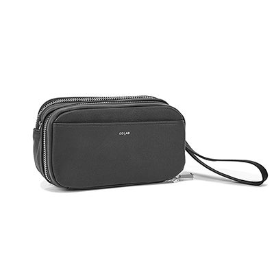 Co-Lab Women's 6409 black cross body wallet