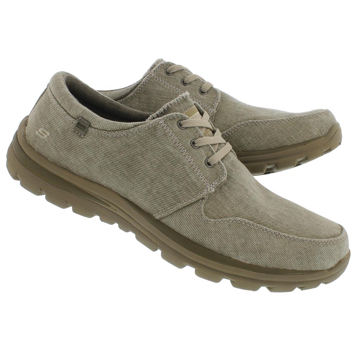Mns Superior Elvin tpe cnvas laceup shoe