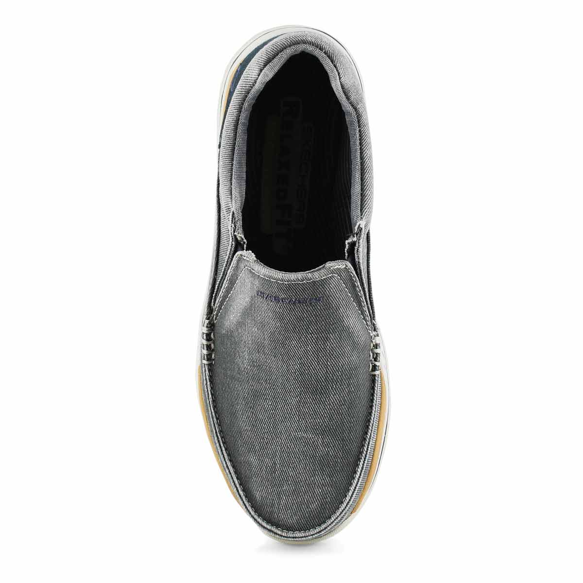 Mns Avillo blue slip on casual shoe