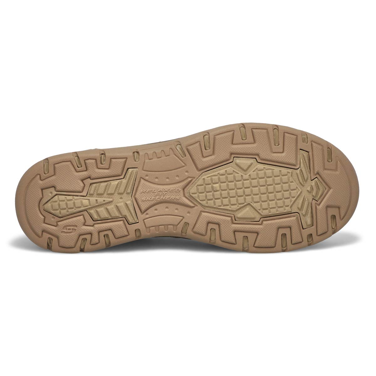 Mns Avillo khaki slip on casual shoe