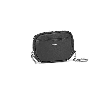 Co-Lab Women's 6427 black coin card case
