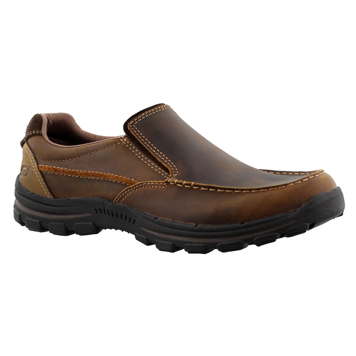 Men's BRAVER RAYLAND dark brown casual shoes