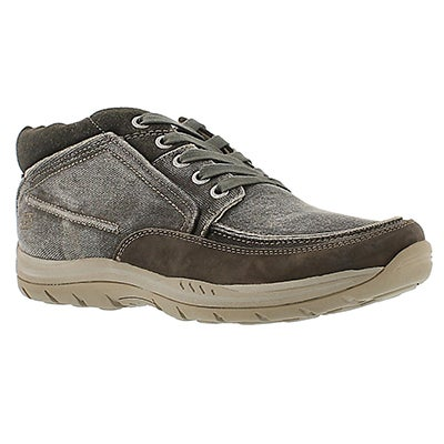 Skechers Men's EXPECTED BREMO charcoal shoes