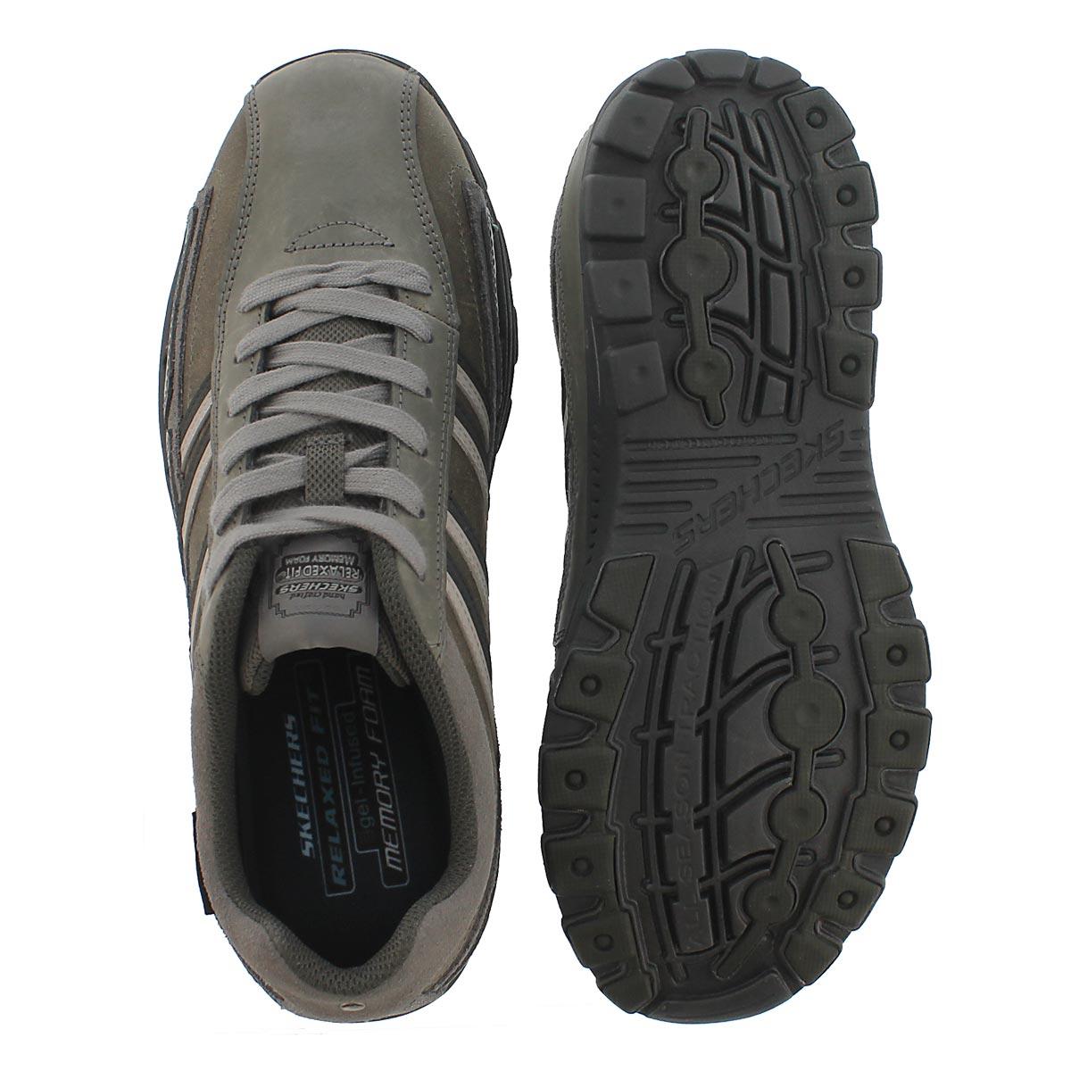 Mns Braver Gonsor charc lace-up shoes